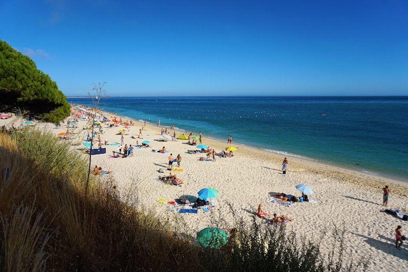 La playa de Figueirinha