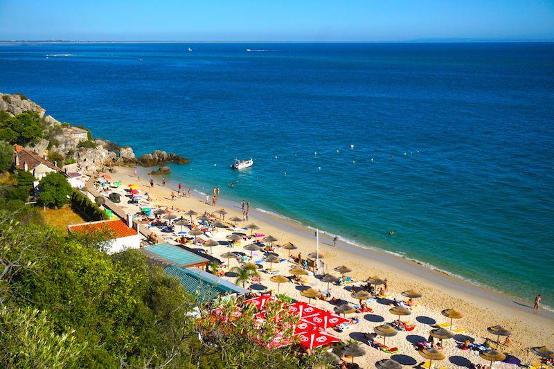 La playa de Galápos