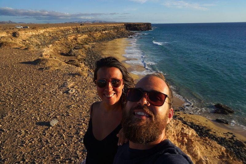 Las playas al sur del Cotillo entraron para el top de nuestras favoritas