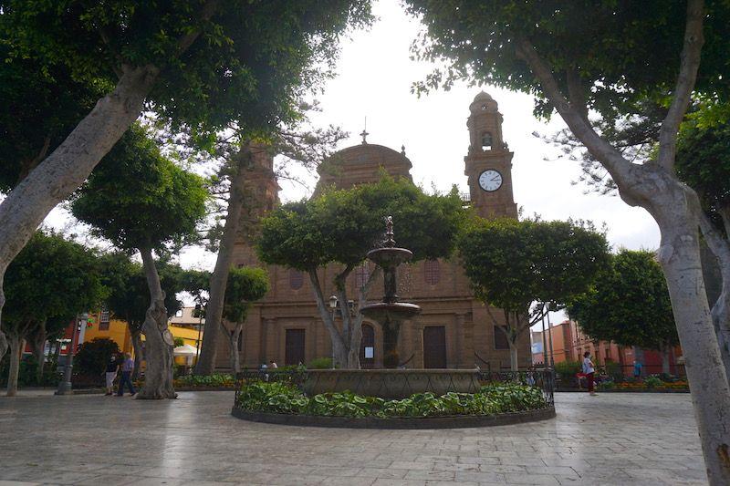 Plaza de Santiago, en Gáldar