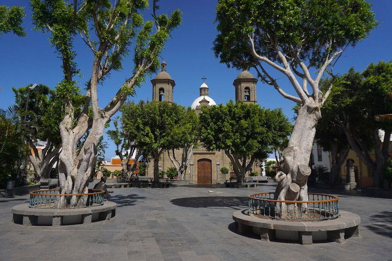La Plaza Párroco Parer de Agüimes