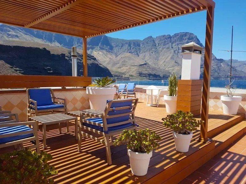 Vistas del RK Hotel del Cabo en Puerto de las Nieves, Agaete. Foto de Booking