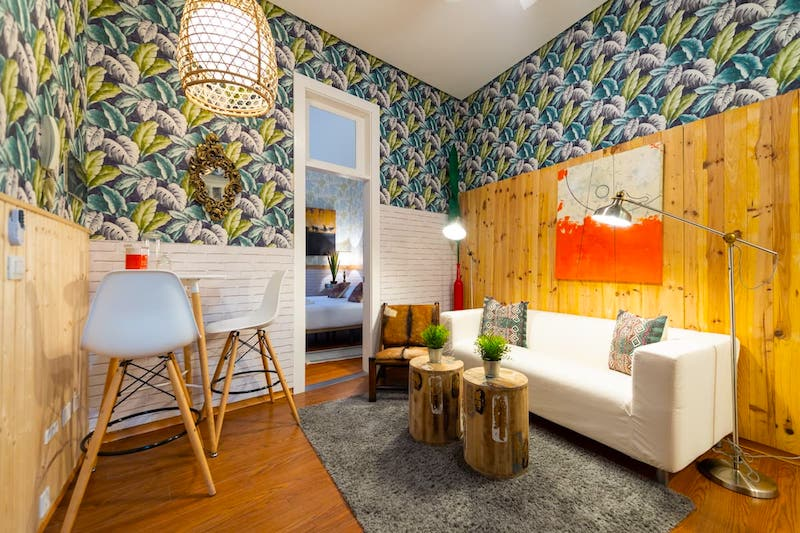 Apartamento en Vegueta. Foto: Airbnb