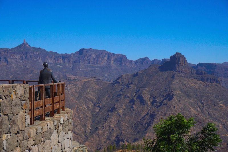 Las vistas que ofrece Artenara desde sus miradores son impresionantes