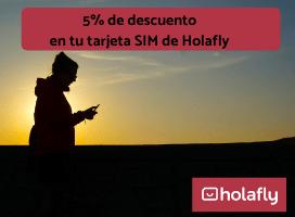 Descuento para tu tarjeta SIM con Holafly