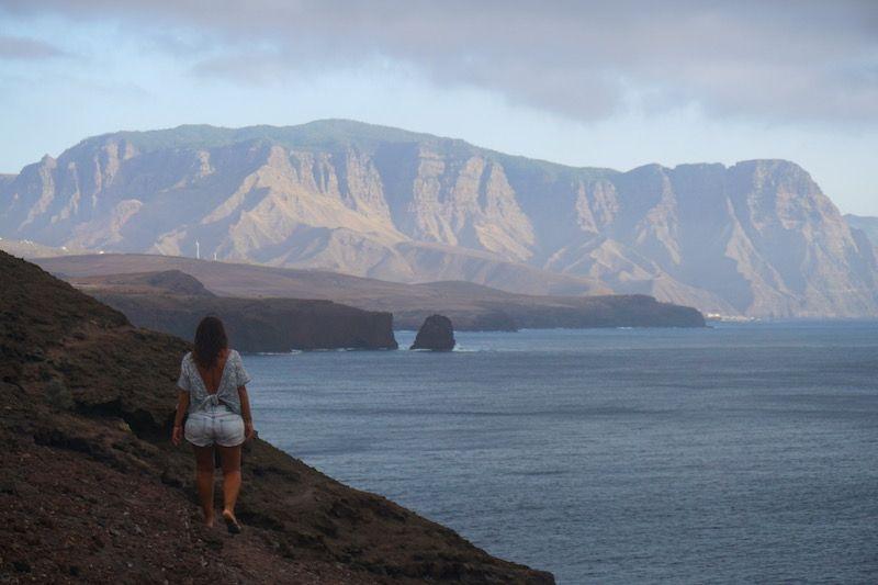 Vistas de la playa Punta del Faro