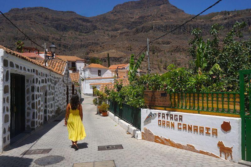 Fataga, el pueblo blanco donde todas las casitas tienen nombre