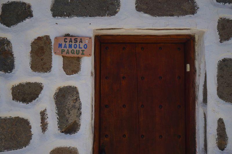 En Fataga todas las casitas se hacen llamar por su nombre