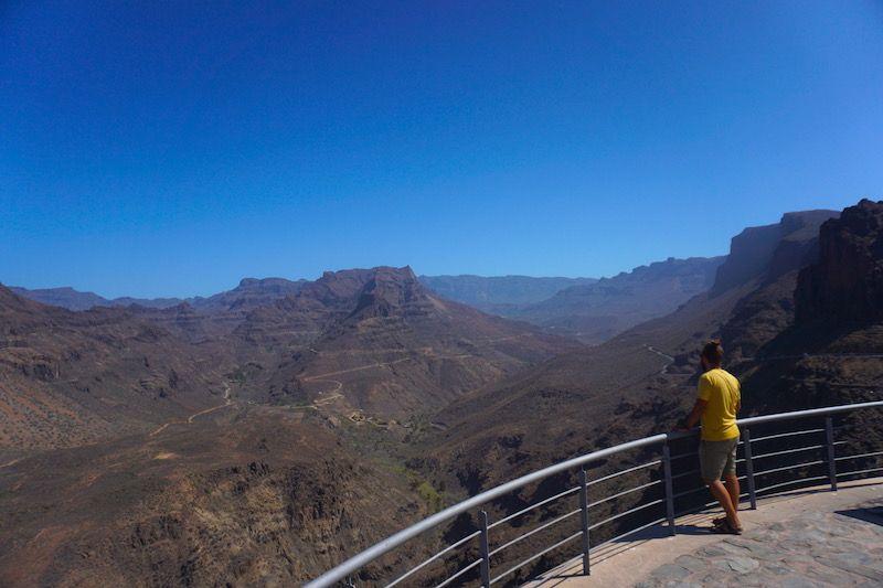 Vistas desde el mirador Degollada de la Yegua