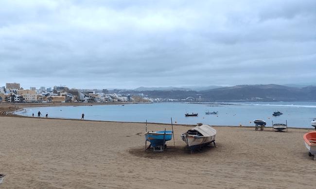 La playa urbana de Las Canteras se ha considerado una las mejores playas urbanas del Mundo