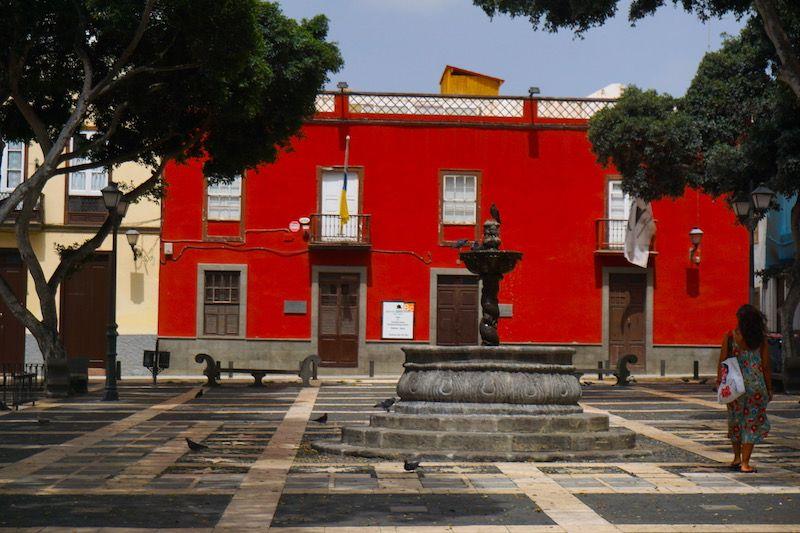 Plaza de Santo Domingo, La Vegueta