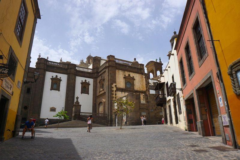 El histórico barrio de La Vegueta
