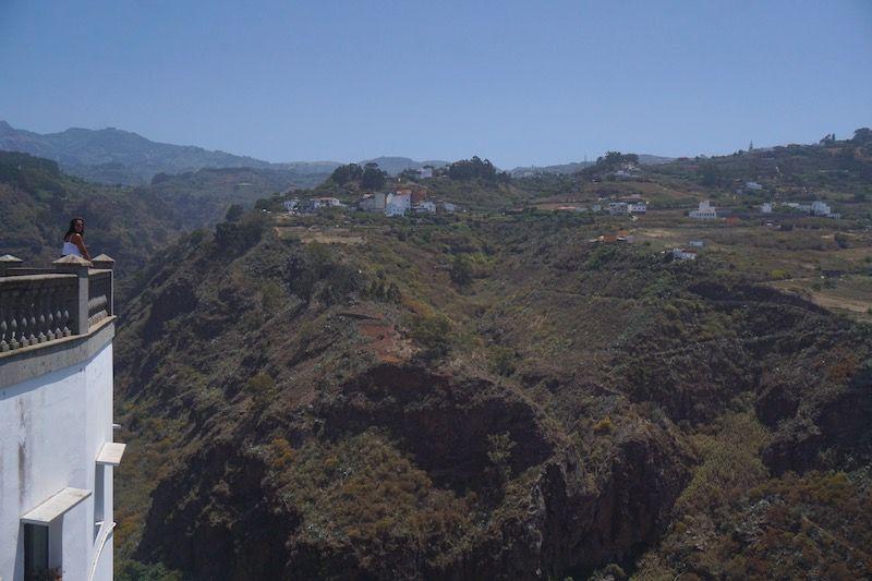 Vistas al Barranco de Moya