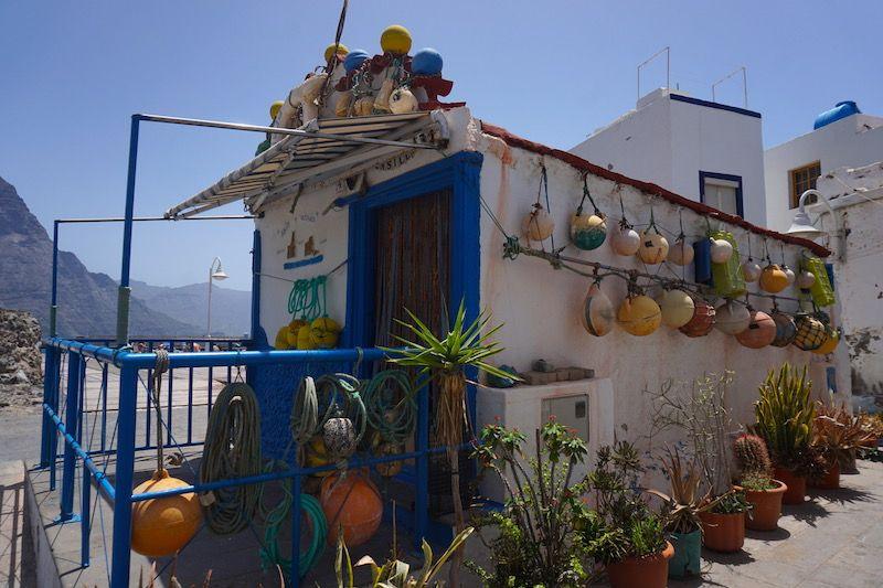 El barrio marinero de Puerto de las Nieves, Agaete