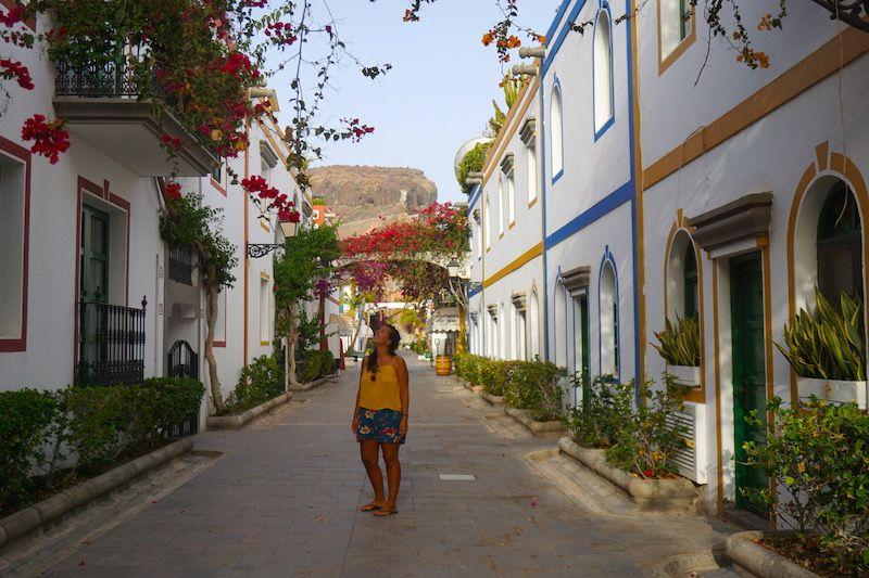 Los colores de Puerto de Mogán