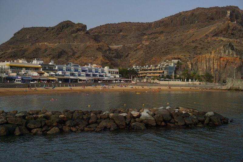 Playa del Puerto de Mogán