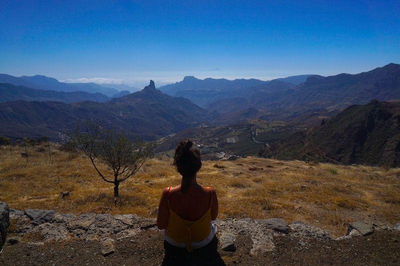 Vistas desde el Mirador Degollada de Becerra