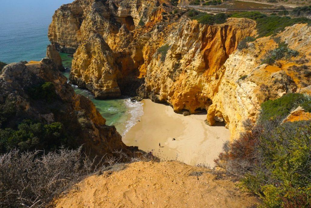 Praia Barranco do Martinho desde arriba