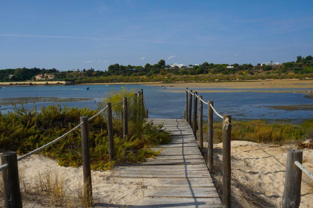 La Ría Formosa desde la playa de Cacelha Velha