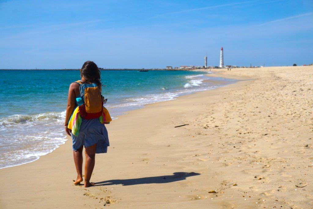 Caminando desde la playa de Culatra a la playa de Farol, dos paraísos a golpe de barco desde Olhão