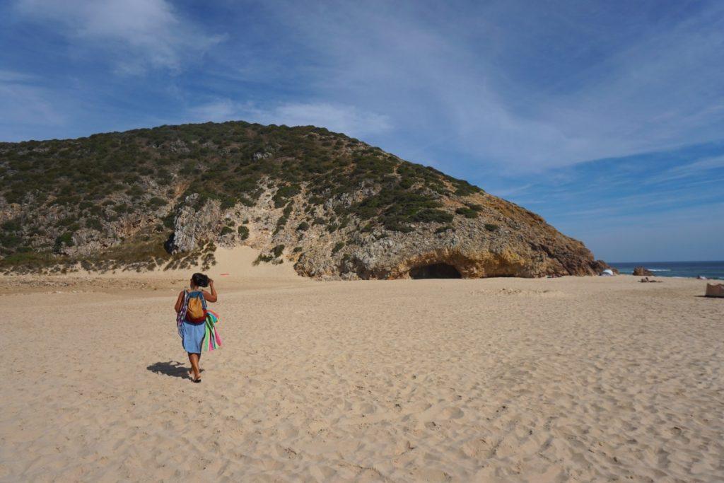 La cueva de la praia das Furnas. Foto Randomtrip