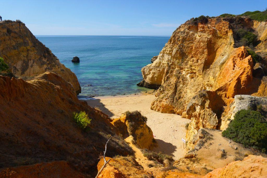 Praia João de Arens desde arriba