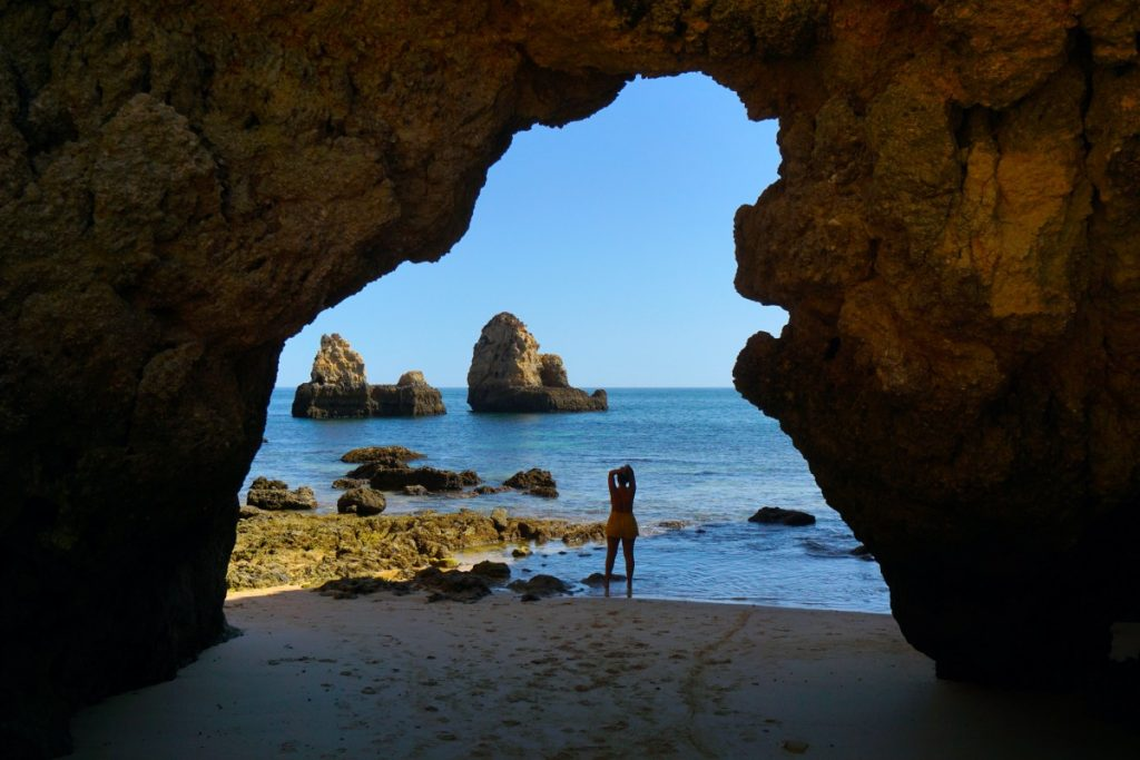 Praia João de Arens desde abajo